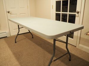 table for soundproofing
