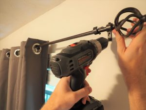 drilling in curtains
