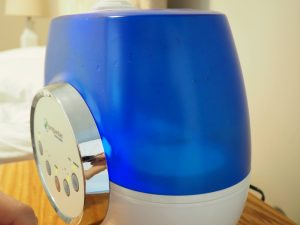 close up view of a humidifier