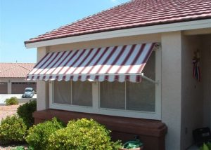 awning attached to a window