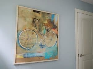 artwork of a bicycle