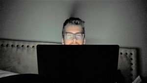 me on my computer